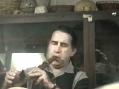 Eric Marzak Double Barrel Flute -Andean- 3 Feather...