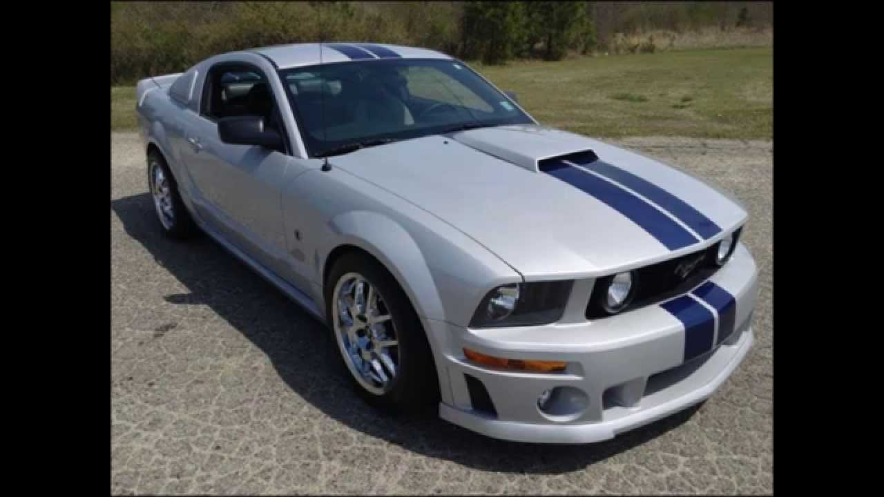 2005 ford mustang roush stage 2 for sale youtube. Black Bedroom Furniture Sets. Home Design Ideas