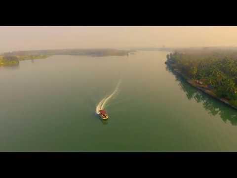 Pontoon backwater boating - Mangalore, Karnataka