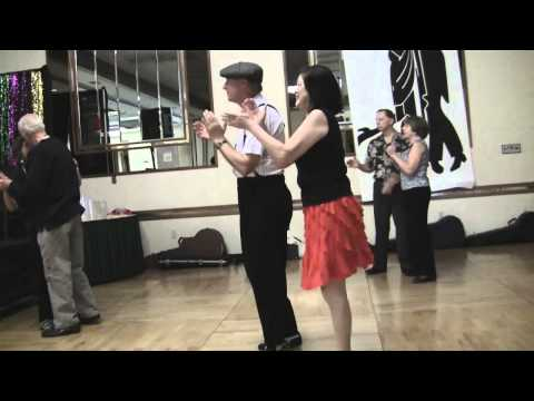 Joel & Lorraine Wing dance at the Fresno Sounds of...