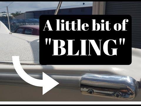 Building a Catamaran Ep029 - A little bit of Bling