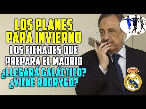 LOS PLANES DEL MADRID PARA FICHAR EN INVIERNO | ¿LLEGA RODRYGO? | HABRÁ GALÁCTICO