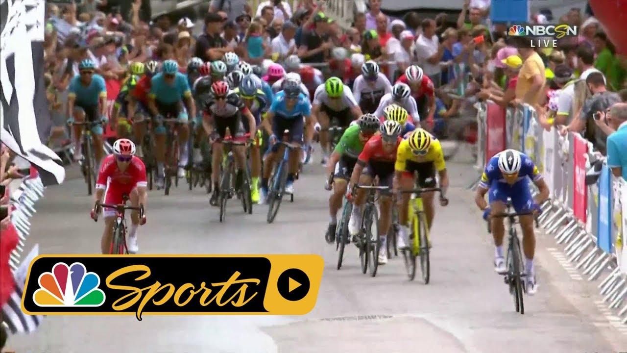 Tour de France 2018: Stage 5 finish I NBC Sports