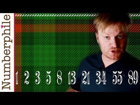 Fibonacci Tartan and Bagpipes - Numberphile