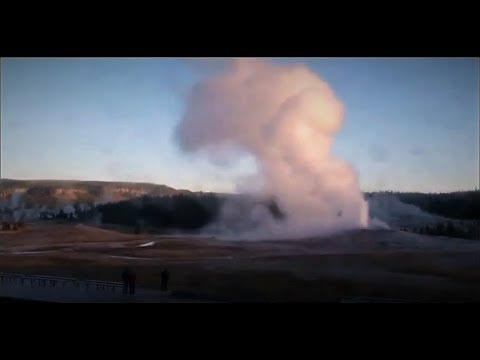 Old Faithful Geyser@Yellowstone [HD] [TL] Sept 17, 2028