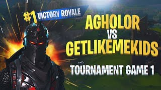 (CLUTCH) Agholor VS GetLikeMeKids | BEST Console Player EVER! Tourney Game Round 1