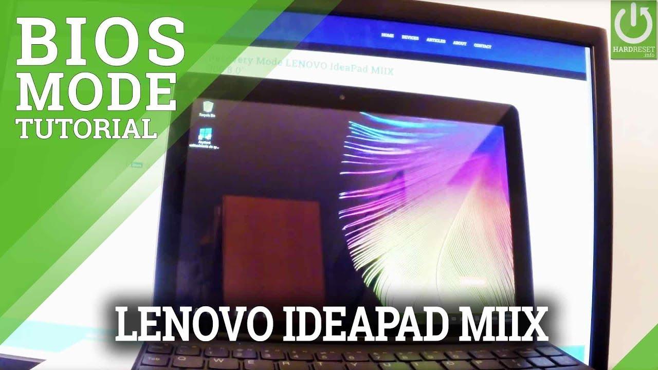 Resetting Videos LENOVO Ideapad Miix 310 - HardReset info
