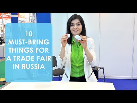 Moscow Trade Show Preparation | 10 Must-Bring Things for a Trade Fair or an Exhibition in Russia