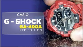 CASIO GSHOCK RED EDITION GA 7004A ( bukan review )