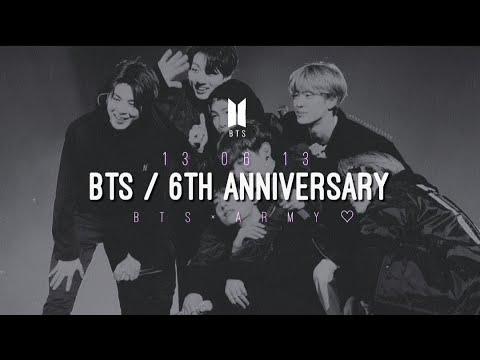 BTS (방탄소년단) _ 6 Year Anniversary - 'Everythingoes'
