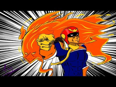 Captain Falcon goes SICKO MODE - Super Smash Bros. Ultimate Montage