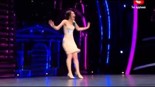 (ENGL SUB)  Ksenia Parkhatskaya, TV show Танцуют Вси 5 Kiev, Ukraine
