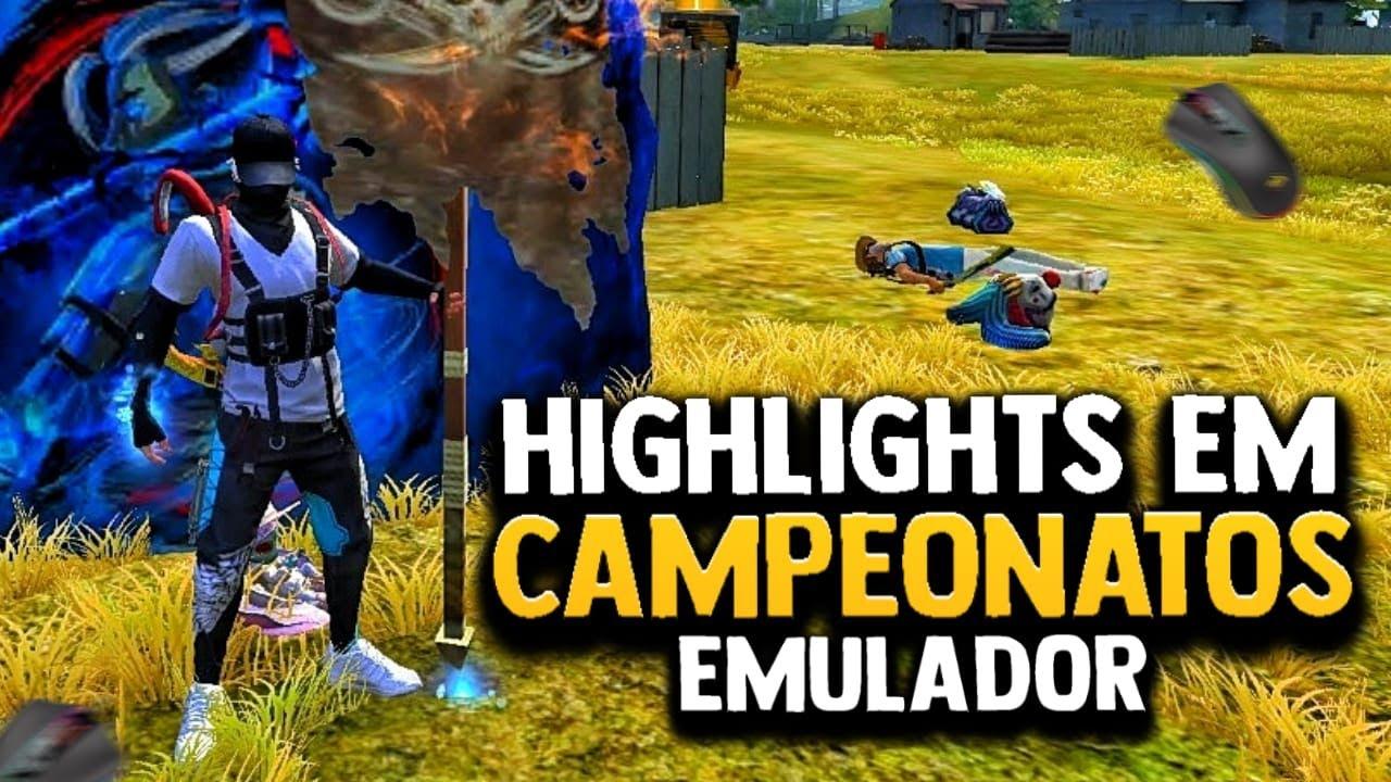 AMASSANDO UNS SQUADS EM CAMPEONATOS EMULADOR 😧🔥 - SMITHX12  FREE FIRE
