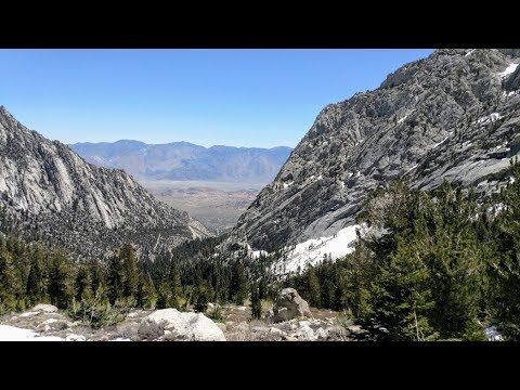 Hike on Mt. Whitney Trail to Lone Pine back lake..Almost!