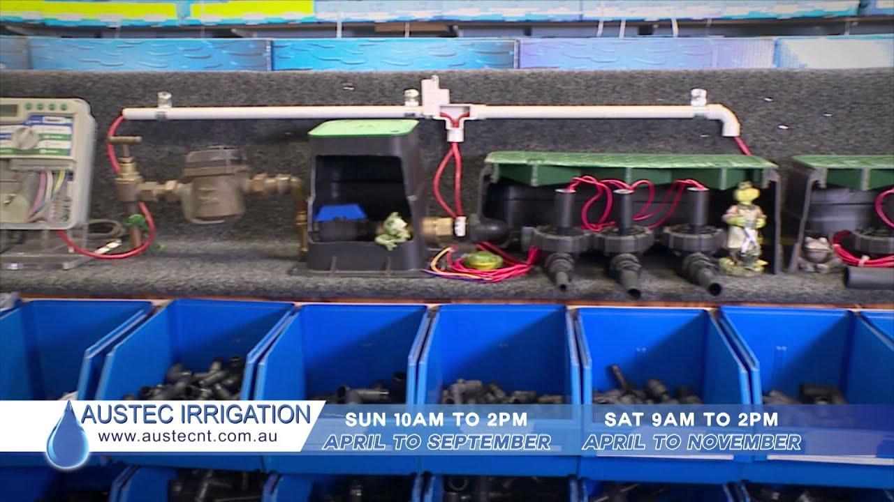 Irrigation supplies and maintenance, Darwin Northern Territory