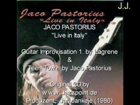 """Jaco Pastorius """"Live in Italy"""" Bireli Lagrene Solo & """"Teen Town"""" by Jaco"""
