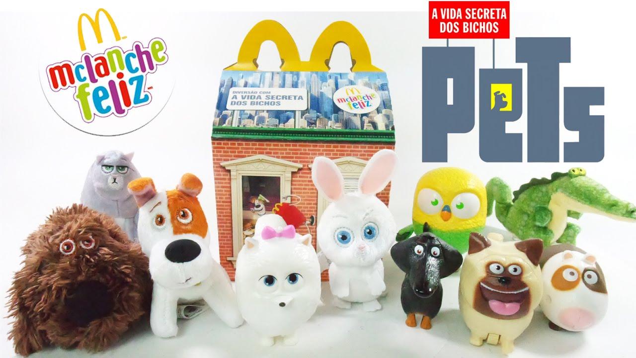 McLanche Feliz Set 2016: Pets - A Vida Secreta dos Bichos