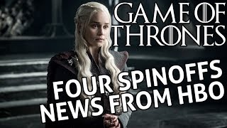 [Game of Thrones] Prequel News - 4 Spinoffs in the Works for HBO