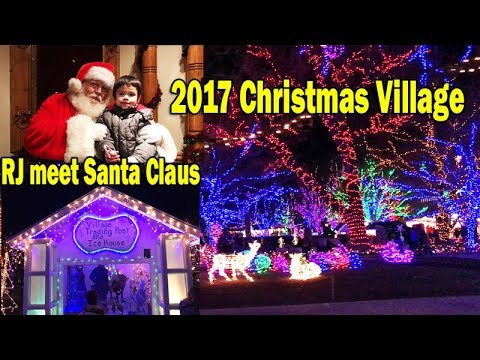 2017 christmas village at downtown ogden utah full video ride train around the city hall park - Christmas Village Ogden