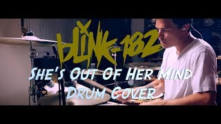 blink-182 - She's Out Of Her Mind   Drum Cover By Chris Barber