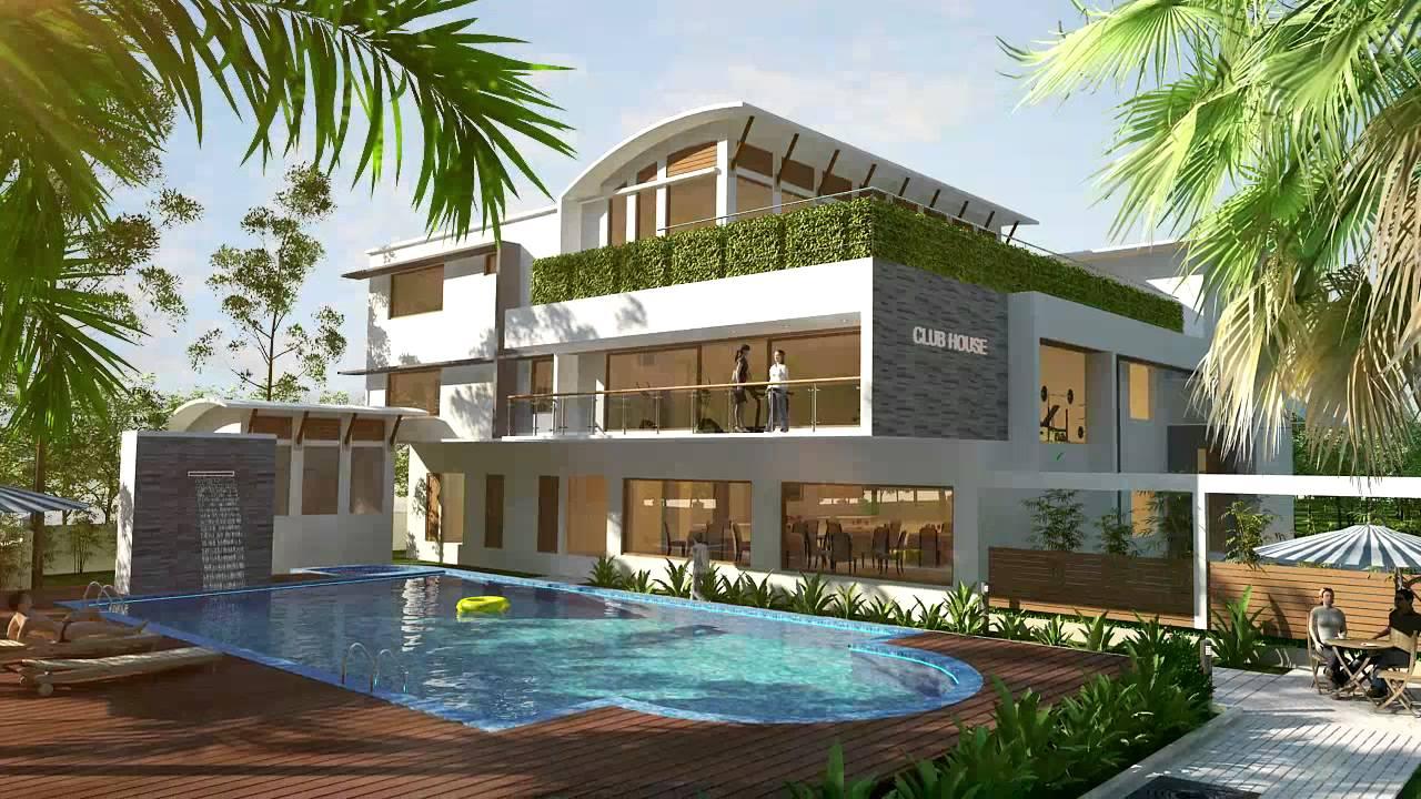 Lakeshore Gardens - Luxury Villas in Cochin - YouTube