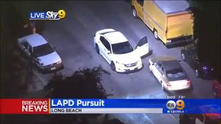 LAPD Police Chase in Los Angeles Ends with a verry big suprize