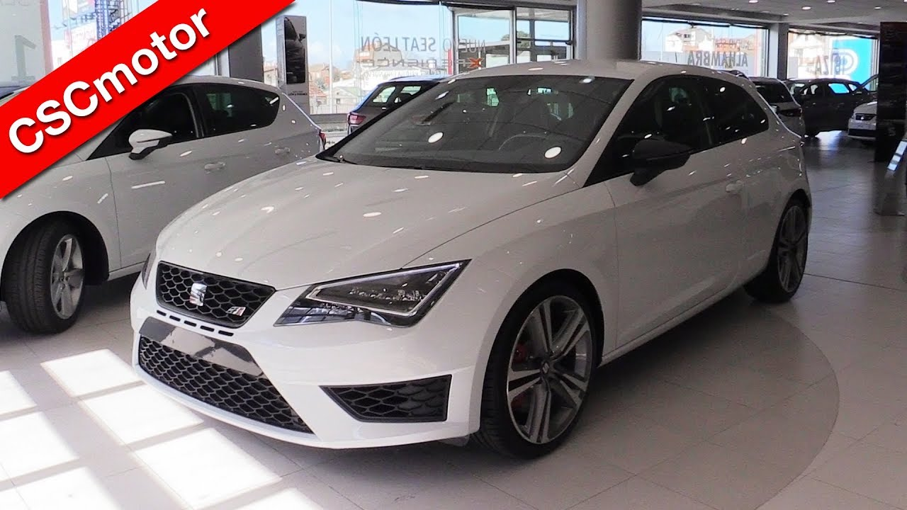 seat leon cupra 290 2016 revisi n y encendido youtube. Black Bedroom Furniture Sets. Home Design Ideas