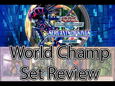 Servant of the Kings Box Review [Yu-Gi-Oh! Duel Links]