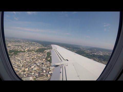 [Flight Time Lapse] Munich to Luxembourg Luxair Embraer ERJ-145LU ❙ GoPro