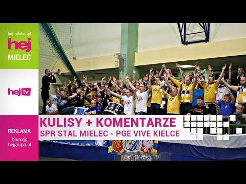 hej.mielec.pl TV: Stal Mielec – PGE Vive Kielce 22:39 [KULISY, KOMENTARZE]