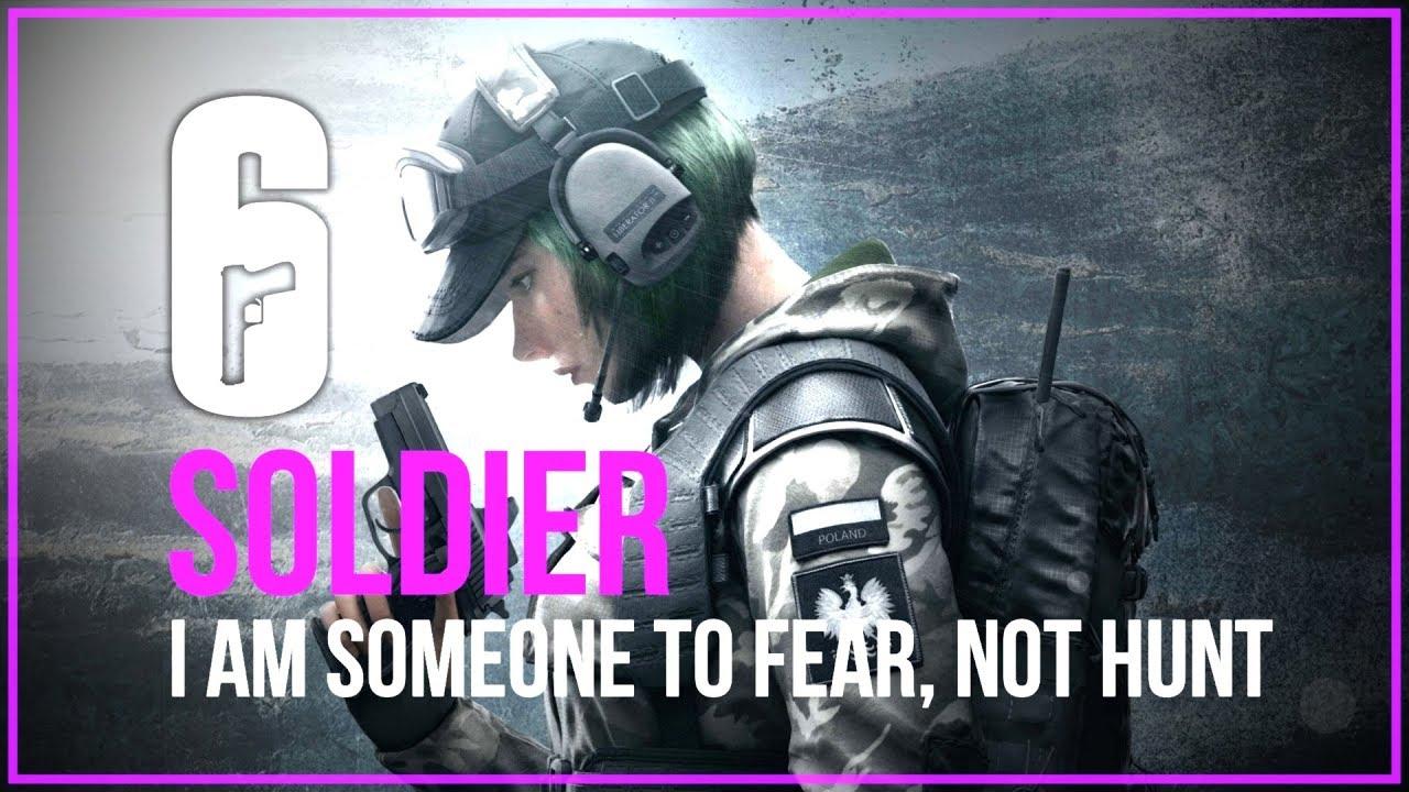 Soldier - Tribute to Siege (Rainbow six siege montage)
