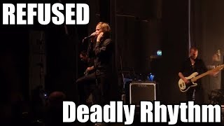 REFUSED LIVE in 2012 (Summer Holidays vs Punk Routine & Deadly Rhythm)