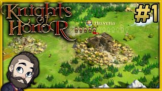 Lets Play Knights of Honor Gameplay - Part 1 - Campaign Walkthrough