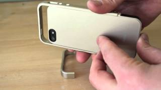 SPIGEN SGP Linear Metal Case Review for iPhone 5