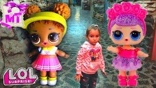 ПРИКЛЮЧЕНИЯ куклы ЛОЛ  в МУЗЕЕ Видео для детей / Magic Twins