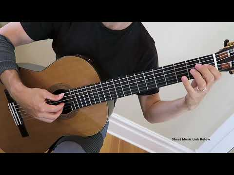 Dreams by Richard Summers  Prep Level RCM Classical Guitar Series 2018 Easy