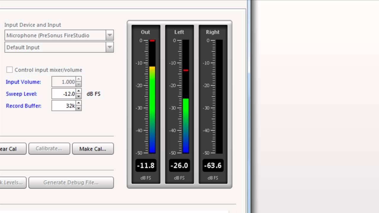 Room Eq Wizard Rew Room Measurement Tutorial Youtube