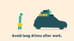 The facts about driving tired