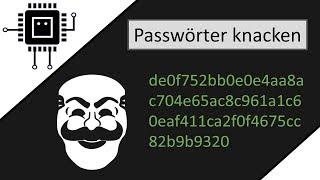 Wie Hacker Passwörter knacken | IT-Sicherheit | #LETSROCKINFORMATIK