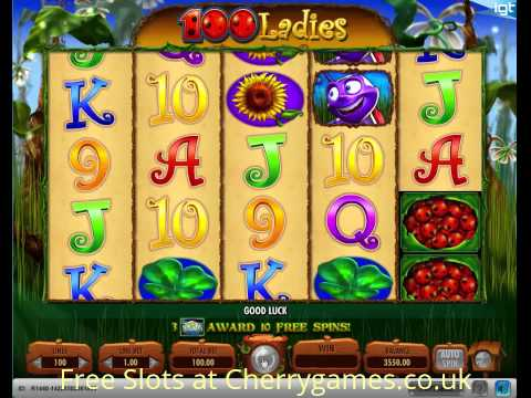 100Ladies Slot IGT - Free Online Casino Games