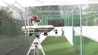 vuclip 2014 BOLA Cricket Bowling Machine Setup and Operation