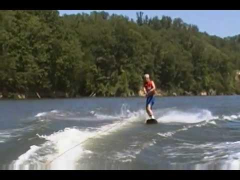 SteveO wake boarding