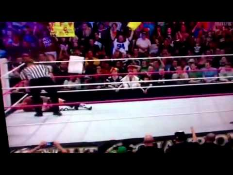 WWE night of champions 2012 ending(MUST WATCH)