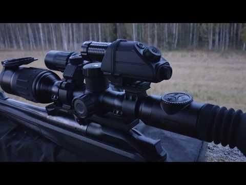 Pulsar Digex N455 условия реальной охоты вечером и ночью с дистанцией от 45 до 110 метров
