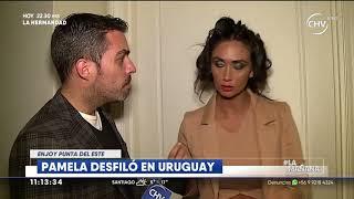 Pamela Díaz se lució en pasarela en evento casino en Uruguay   LA MAÑANA