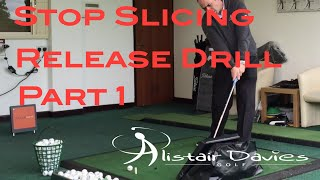 Golf Tip Stop Slicing - Release- Part 1