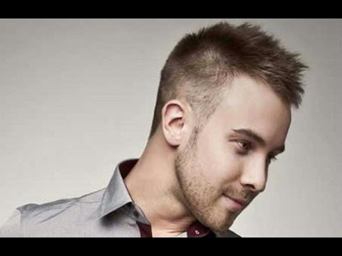 hairstyle big forehead male