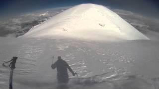 Восхождение и спуск на сноуборде с вершины Эльбруса 5642м. Май 2014. thumbnail
