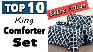 Best Extra Large King Comforter Sets