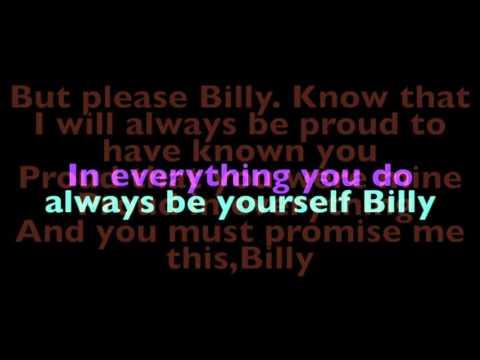 The Letter Lyrics - Billy Elliot the Musical